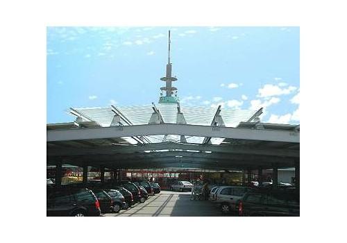 Parkplatzüberdachung Handelshof, Köln-Poll