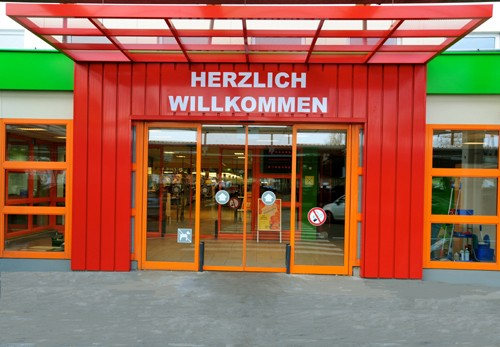 Eingangsportal FEGRO Mannheim