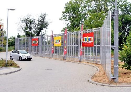 Schallschutzwand am Börde-Park
