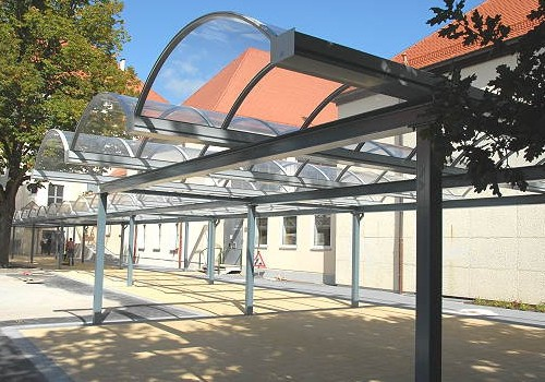 Pausenhofüberdachung Graf-Münster-Gymnasium