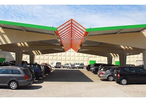 Parkplatzüberdachung FEGRO, Hilden