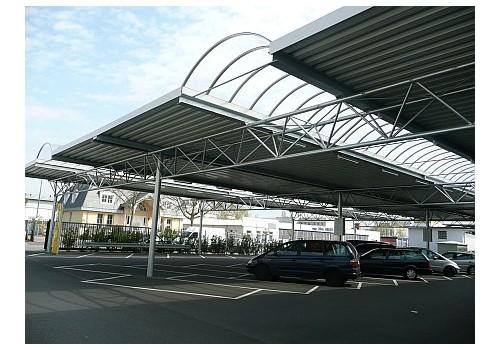 Parkplatzüberdachung C+C Markt MIGROMA
