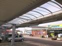 Parkplatz- u. Eingangsüberdachung in Lindenhorst