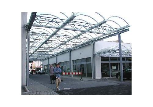 Passagenüberdachung Globus-Markt, Netphen
