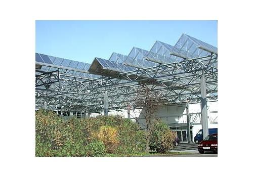 Parkplatzüberdachung Vorteil Center, Unkel