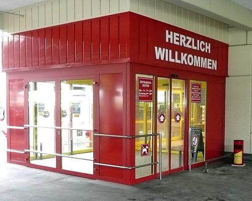 Eingangsportal Gersthofen