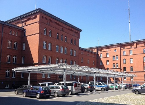 Parkplatzüberdachung Bremerhaven