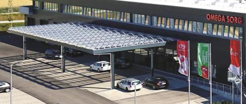 Parkplatzplatzüberdachung, 91126 Rednitzhembach