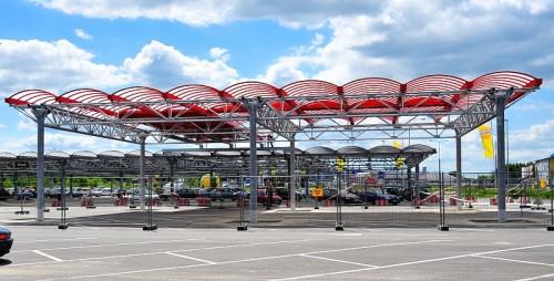 Parkplatzüberdachung, 20-535 Lublin, Polen