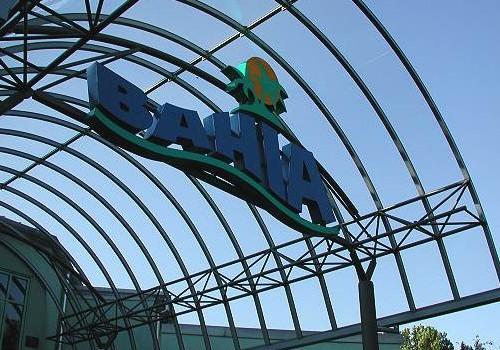 Eingangsüberdachung BAHIA-Inselbad