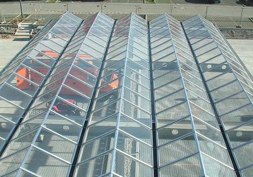 Parkplatzüberdachung FMZ Börde-Park