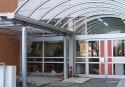 Eingangsüberdachung Oekumenisches Altenzentrum